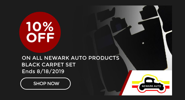 Newark Restore and Refresh Summer Promo | 10% OFF any Black Carpet Set | Ends 8/18/2019