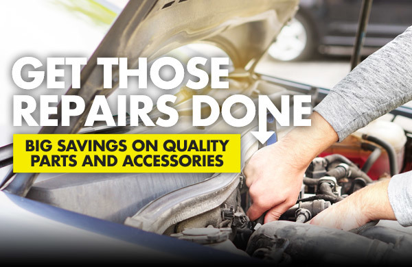 Get Those Repairs Done [BIG SAVINGS FOR A BETTER DRIVING EXPERIENCE]