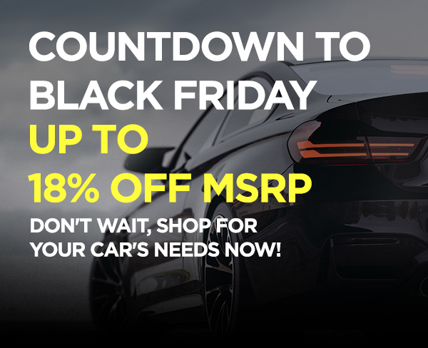 Countdown to Black Friday - Shop Now