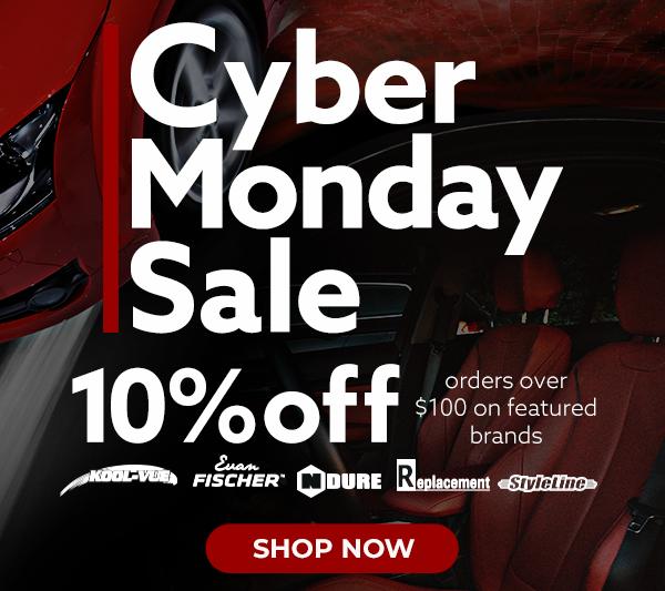 Cyber Monday Sale | 10% OFF on orders over $100 on Featured Brands: Kool Vue, Evan Fischer, N-Dure, Replacement, Styleline [SHOP NOW]