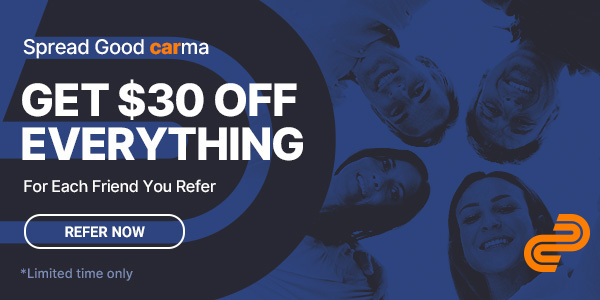 Get $30 OFF Everything - Refer More Friends